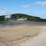 burgh island beach
